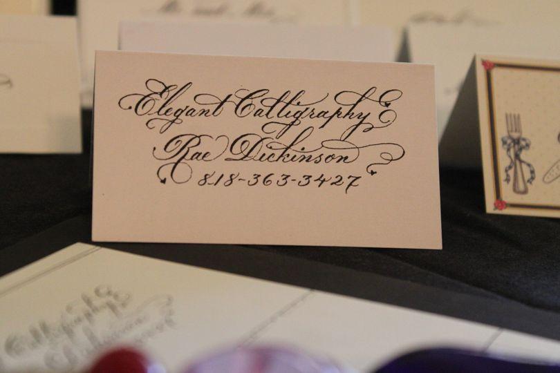 name and ph callig