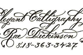 Elegant Calligraphy- Rae Dickinson