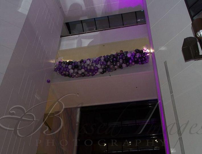 Atrium terrace