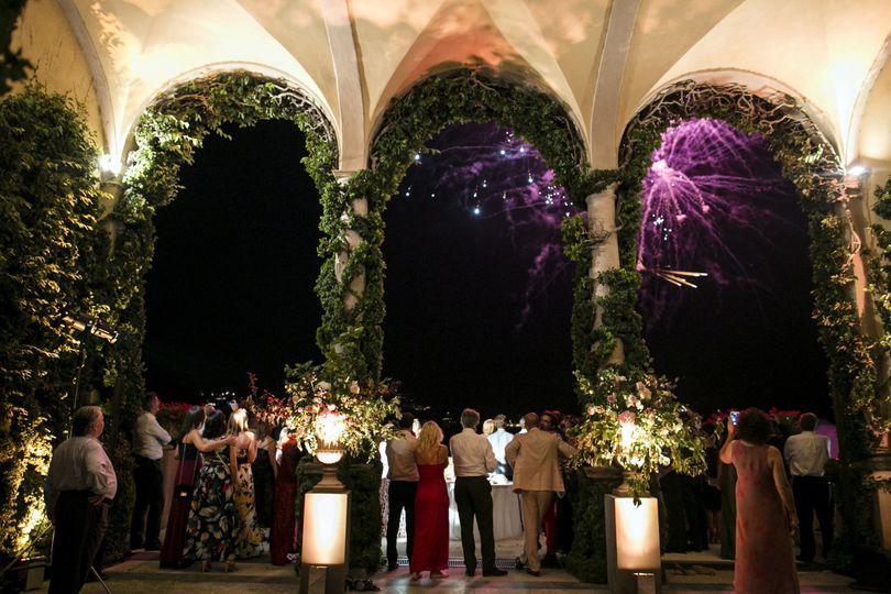 Luxury wedding in lake Como