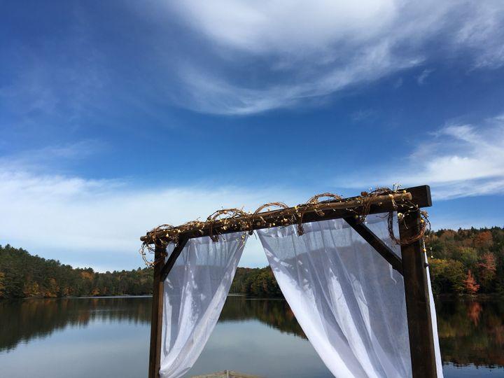 Rustic Arbor Lake Wedding
