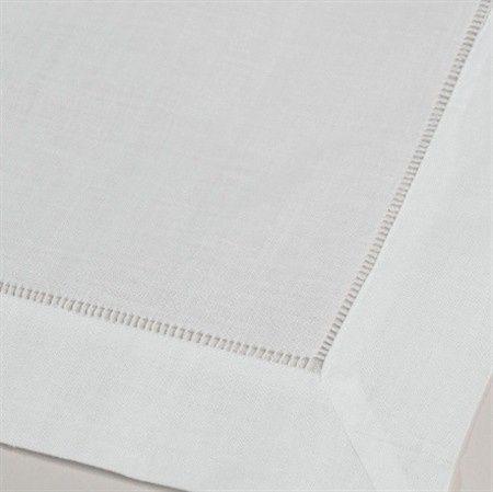 white hemstitch napkins