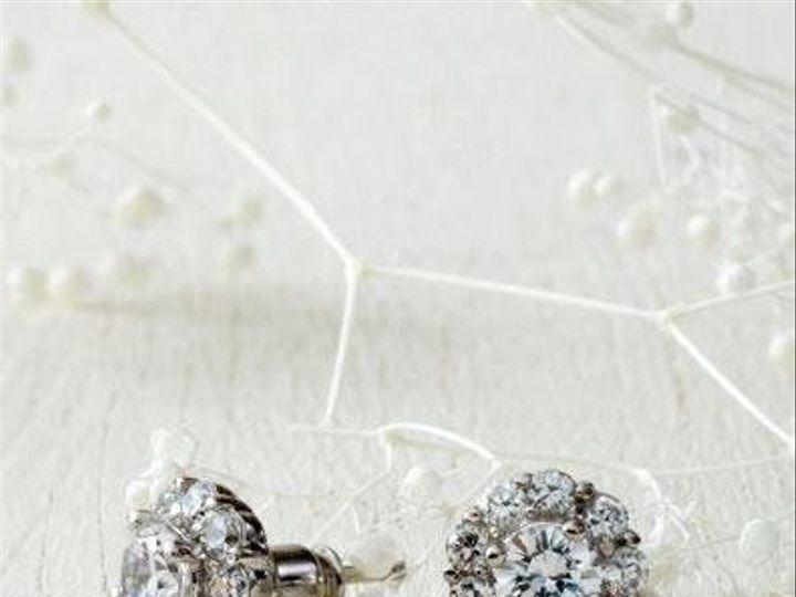 Tmx 1283381855715 GlintCZearrings West Orange, NJ wedding jewelry