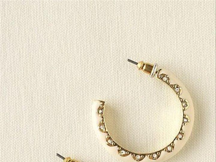 Tmx 1283383688090 SloaneHoopearrings West Orange, NJ wedding jewelry