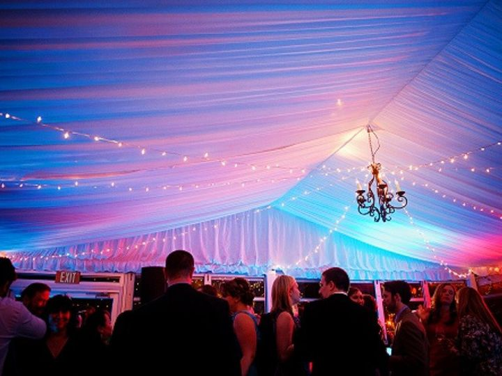 Tmx 1427996585355 Pavilion With Uplighting And Guests Stevensville, MD wedding venue