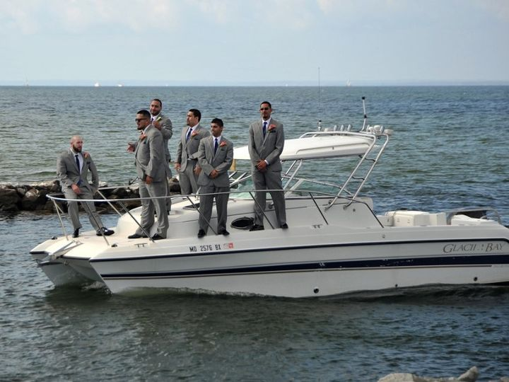 Tmx 1433595535134 Grooms Arrival By Boat Stevensville, MD wedding venue