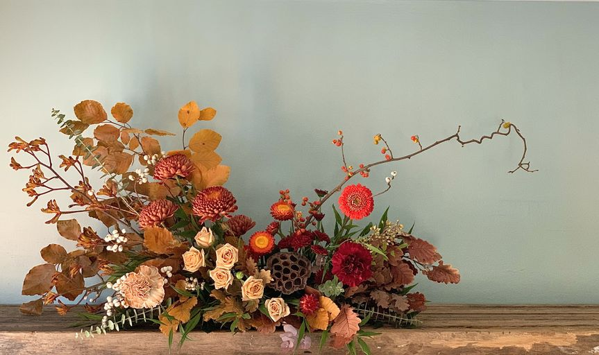 Fall inspired arrangement