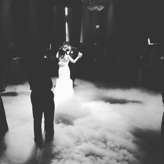 Congrats to Nick and his beautiful wife.. Dancing on the clouds