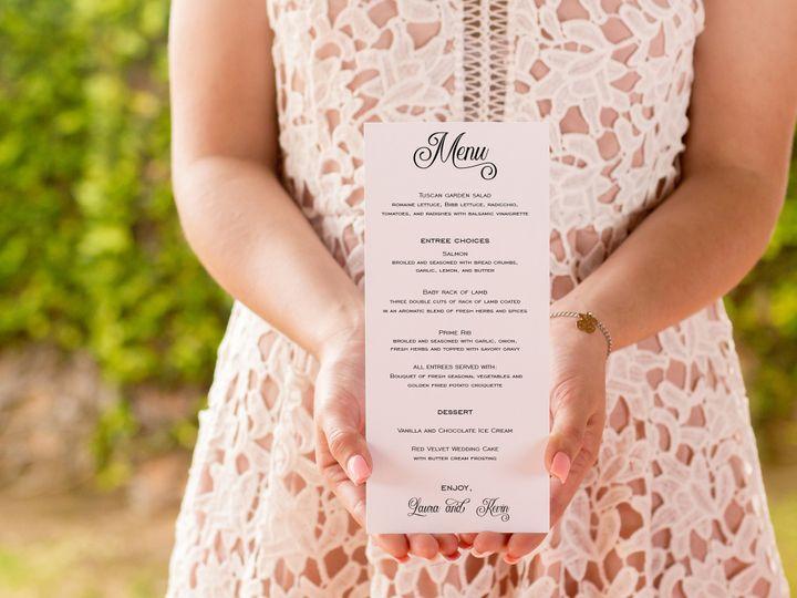 Tmx Menu 51 1041081 Auburn, PA wedding invitation