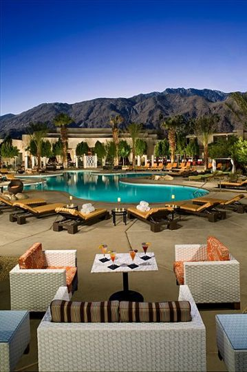 Lounge by the main pool