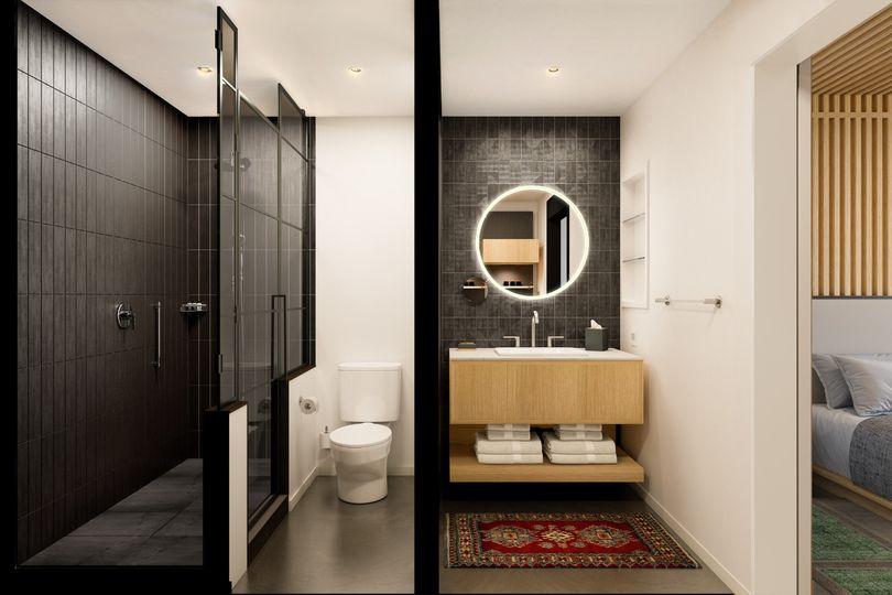 Hotel Room Bathrooms