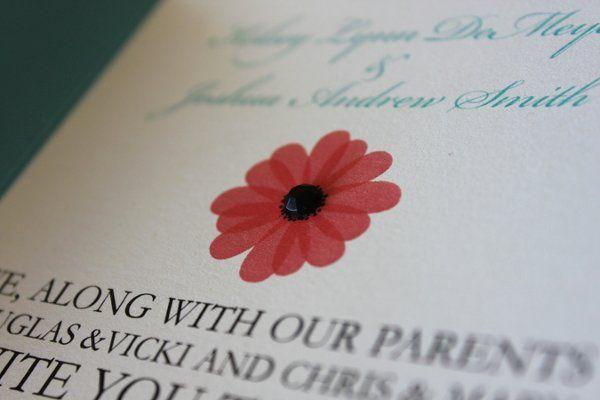 Tmx 1300300063826 IMG1647 White Pigeon wedding invitation