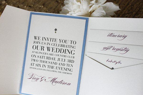 Tmx 1300300496013 IMG0931 White Pigeon wedding invitation
