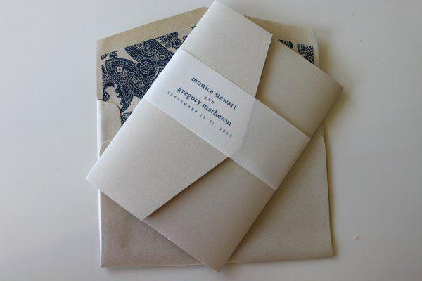 Tmx 1300301429013 IMG1675 White Pigeon wedding invitation