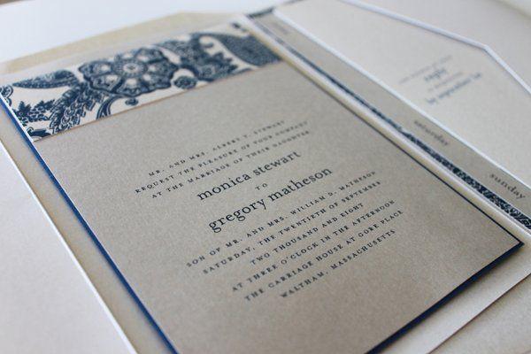 Tmx 1300301447841 IMG1677 White Pigeon wedding invitation