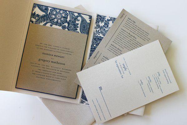 Tmx 1300301465654 IMG1678 White Pigeon wedding invitation