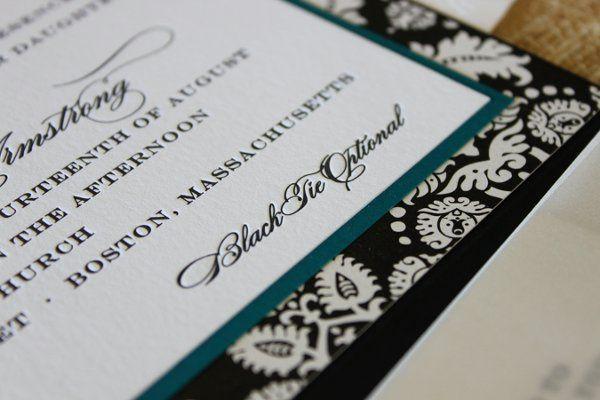 Tmx 1300301507732 IMG1837 White Pigeon wedding invitation