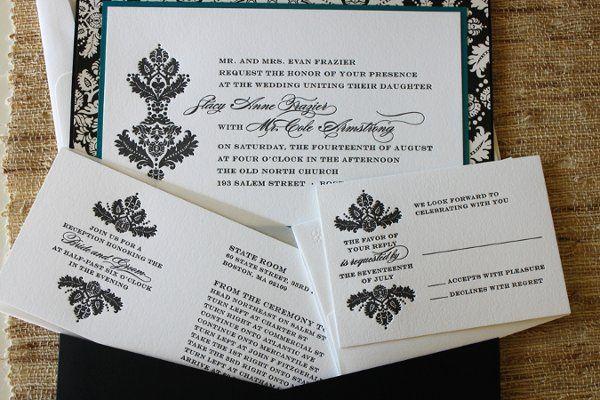Tmx 1300301530544 IMG1838 White Pigeon wedding invitation