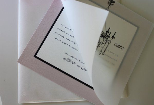 Tmx 1300301556044 IMG1665 White Pigeon wedding invitation