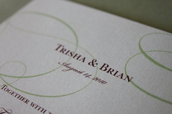 Tmx 1300301649560 IMG1815 White Pigeon wedding invitation