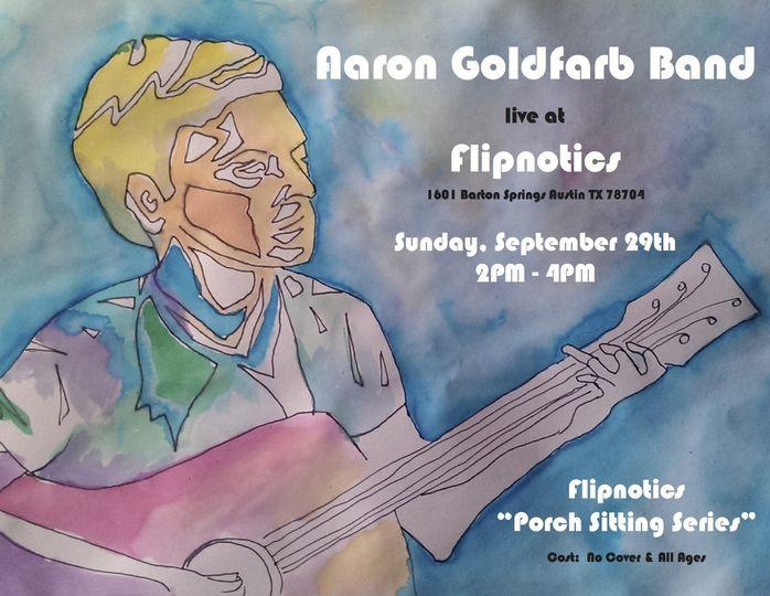 aaron goldfarb band live at flipnotics copy