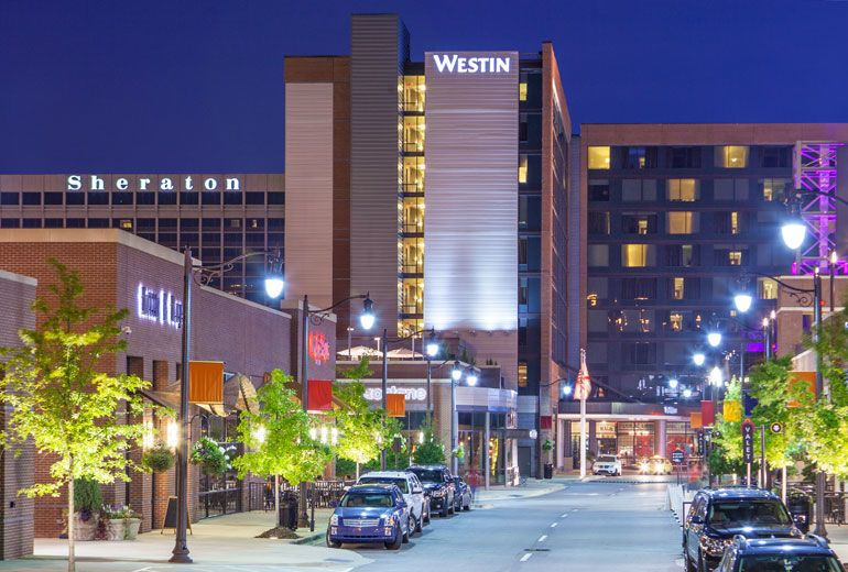 The Westin Birmingham downtown location