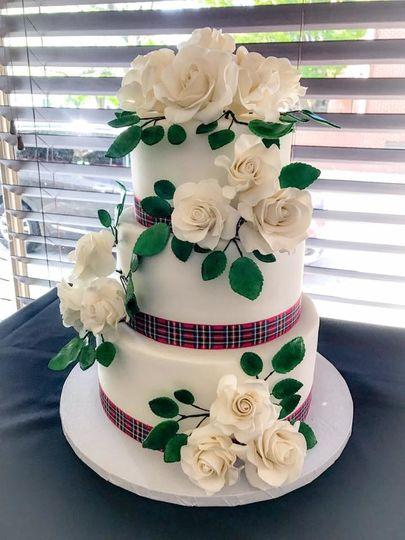 Zosaros Bakery Wedding Cake Richmond VA WeddingWire