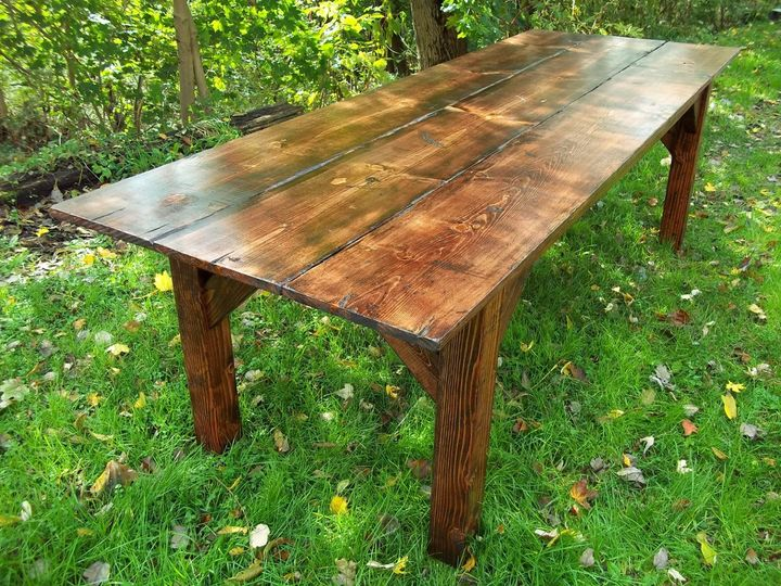 Barnes Handcrafted Farmhouse Tables Event Rentals
