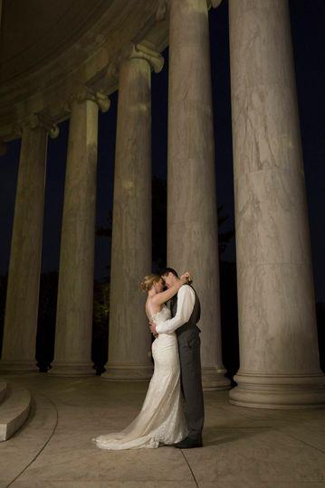 The newlyweds   Photographer: candice adelle