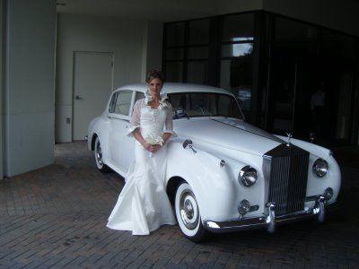 Classique White Rolls Royce Sedan Limos for the Bride & Groom...