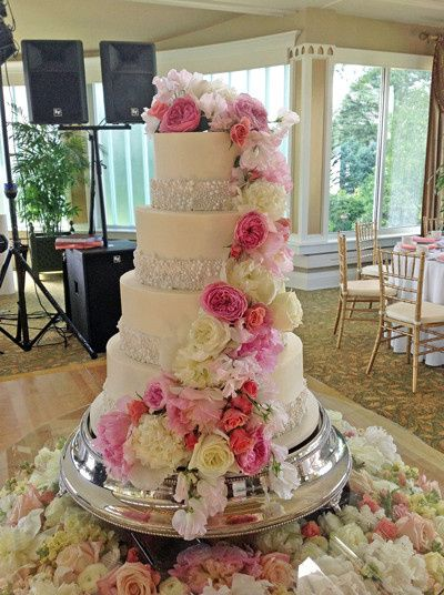 Tmx 1417522792245 Pearl Bead Border Millersville, Pennsylvania wedding cake