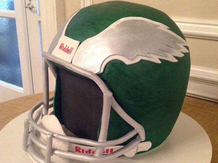 Tmx 1428614291416 2nd Eagles Helmet Millersville, Pennsylvania wedding cake