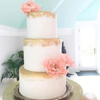 Tmx 1503317824182 Gold Edge Cake Millersville, Pennsylvania wedding cake
