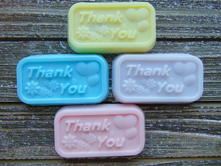 Thank you soap favors