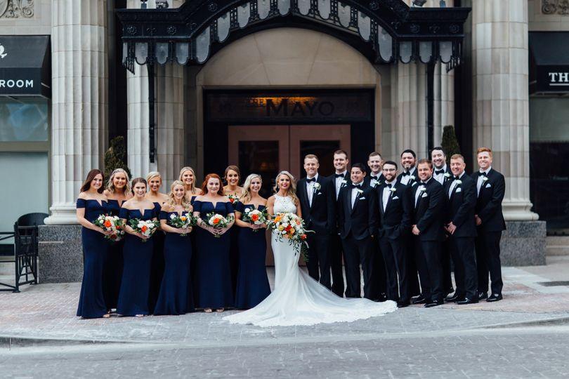 Bridal Party at the Mayo