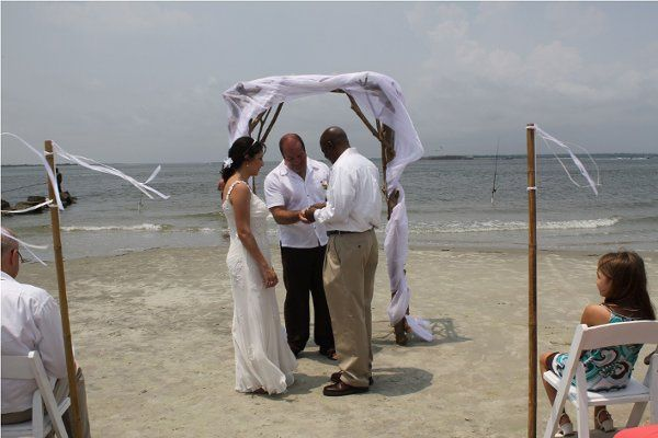 July 10, 2011 wedding on Sullivan's Island, SC