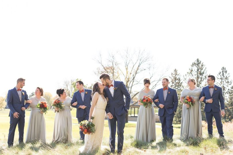 Fall wedding at Olympic Hills