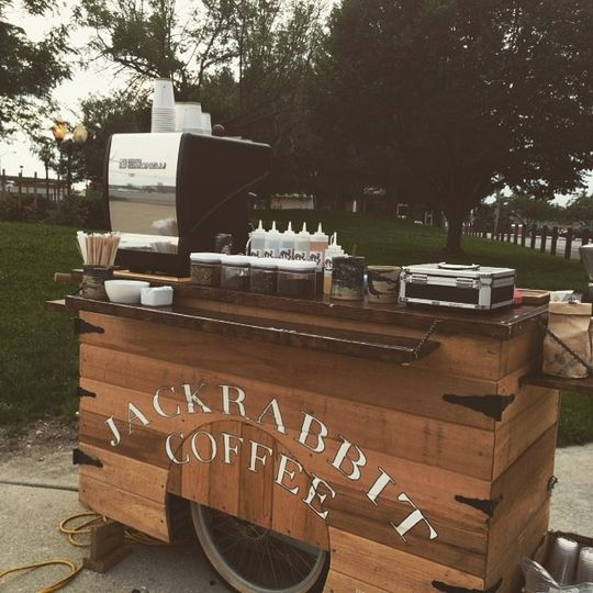 Jackrabbit Coffee's cart