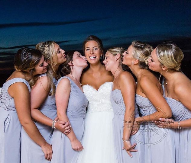 Bridal party | Cape Cod Classic Flair Photo