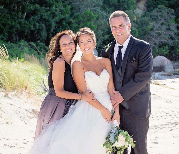 Bride's family | Cape Cod Classic Flair Photo