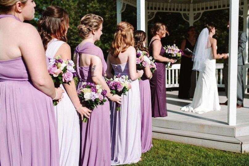 Gazebo wedding | Nicole Ellen Photography
