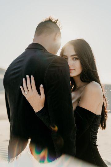 Engagement shoot Pismo Ca