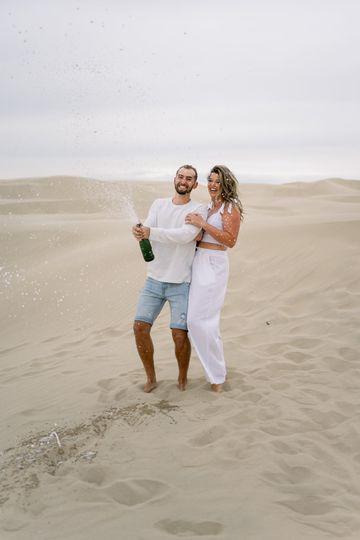 Pismo Sand Dunes Engagement