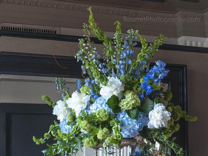 Tmx 1375308284495 Blue And Green Wedding Arrangement Houston, TX wedding florist
