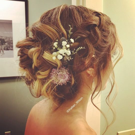 The wedding bun