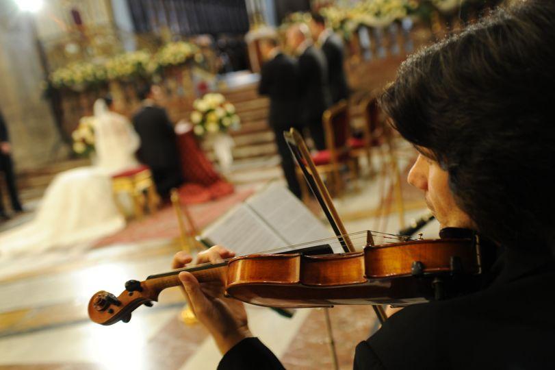 violinista duomo acireale