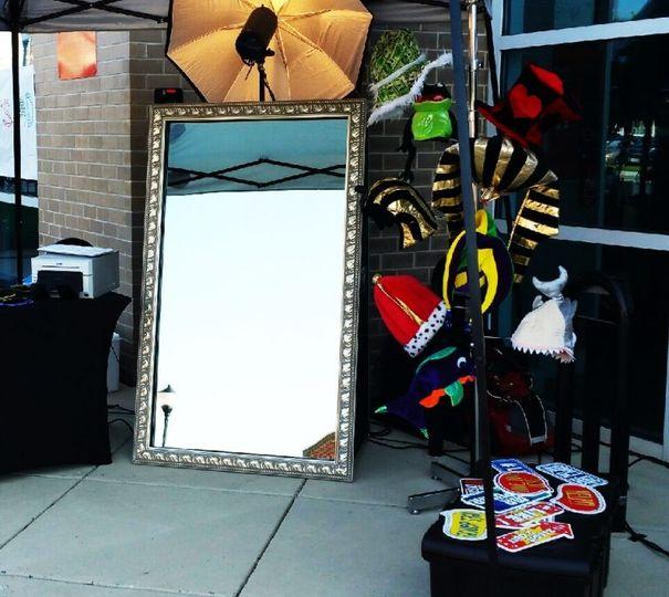 """Magic Mirror"" Booth"