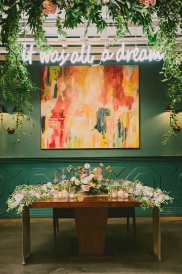 FIG HOUSE WEDDING. FEATURED ON GREEN WEDDING SHOES.