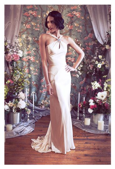800x800 1375815569315 asymetrical halter deco backless satin mermaid wedding dress b