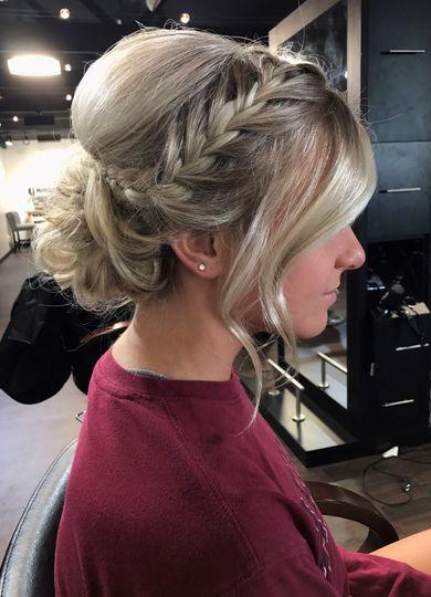 Bridal Updo knot